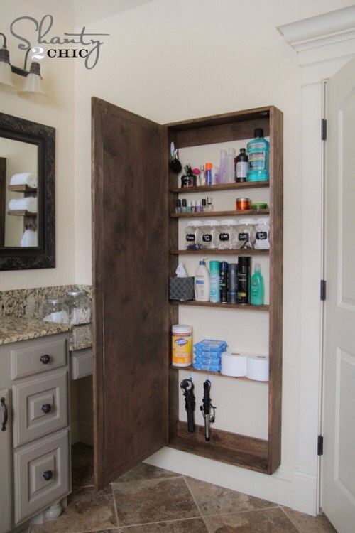 DIY Bathroom Storage Cabinet | Hometalk