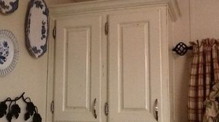 Q Painting Particle Board Cabinets In Mobile Home Kitchen Finished Now