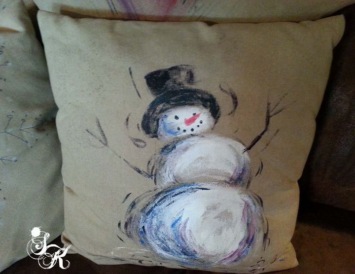 painted stuffin with sk, crafts, home decor, painting