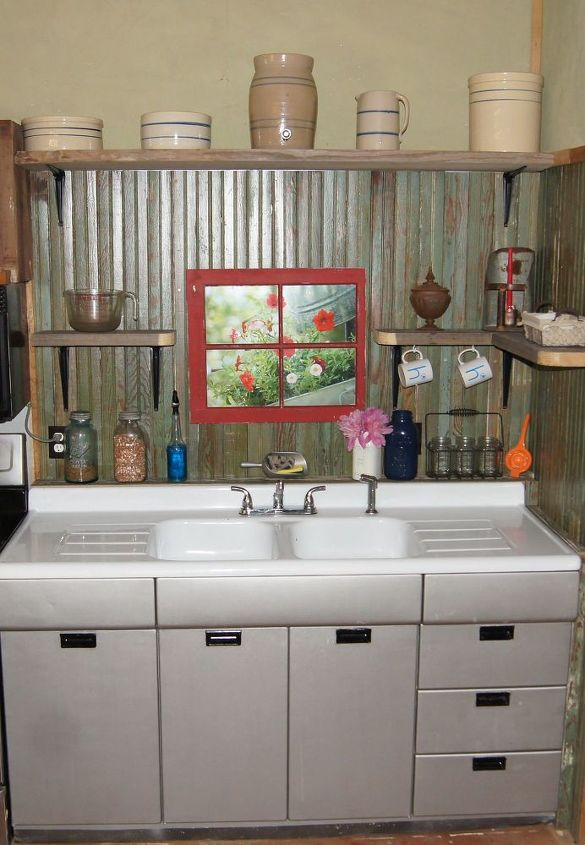 Small Rustic Kitchen Makeover Diy Home Decor How To Backsplash