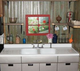 Small Rustic Kitchen Makeover, Diy, Home Decor, How To, Kitchen Backsplash,