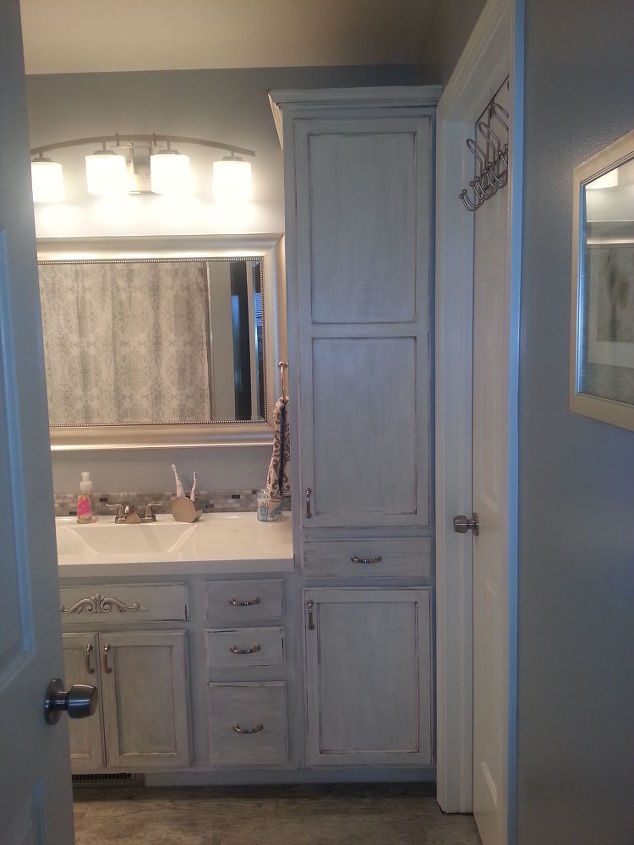Small Master Bathroom Makeover Hometalk - Small master bathroom makeover ideas