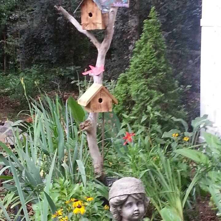 welcome birdies, crafts, outdoor living, pets animals