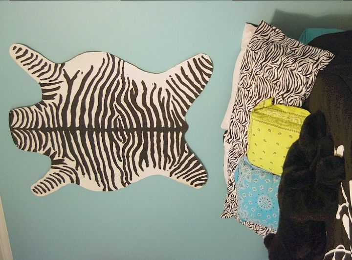 faux animal skin rugs, crafts, flooring, home decor