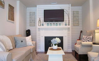 garage converted to a family room, garage doors, garages, home decor, living room ideas, After
