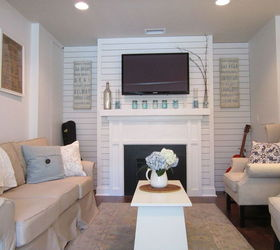 Garage Converted To A Family Room, Garage Doors, Garages, Home Decor, Living