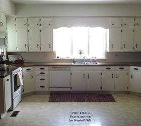 Good Painted Farmhouse Kitchen, Diy, Kitchen Cabinets, Kitchen Design, Painting