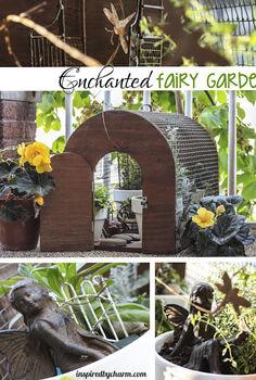 enchanted mini garden, gardening, Enchanted Fairy Garden