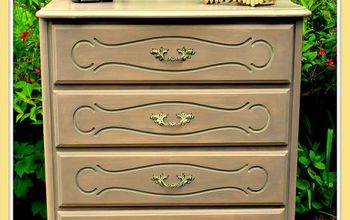 dresser french provincial old update, chalk paint, painted furniture