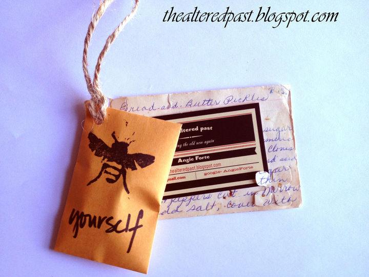 Diy business card holder hometalk business card holder diy crafts colourmoves