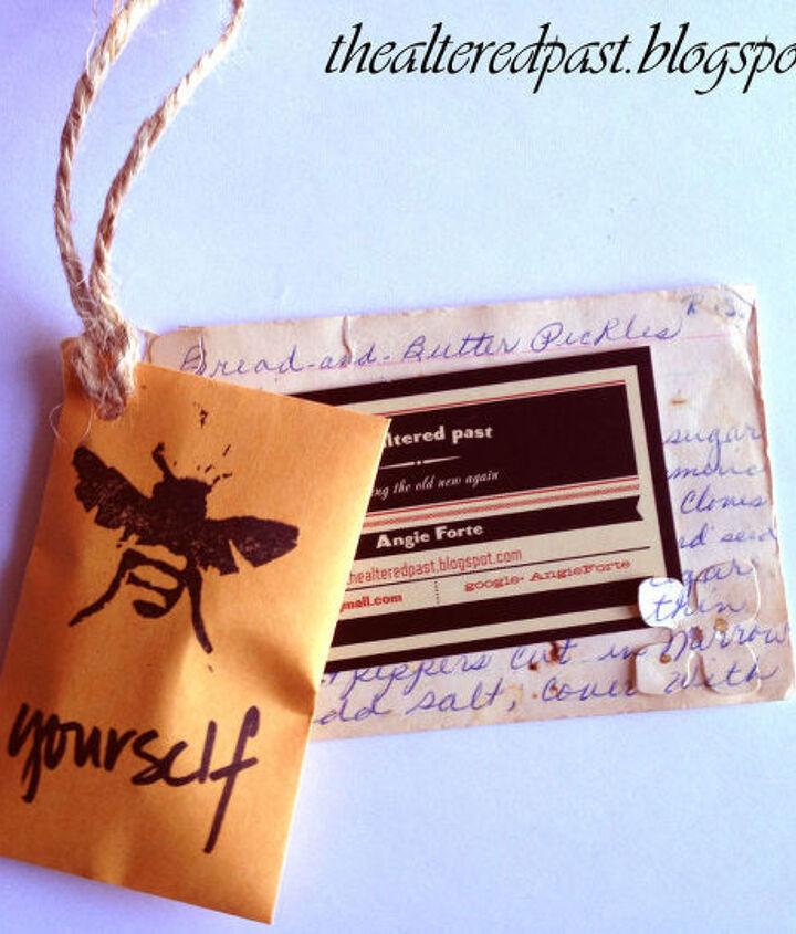 business card holder diy, crafts