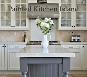 Kitchen Island Makeover, Diy, Kitchen Design, Kitchen Island, Painted  Furniture, Painting