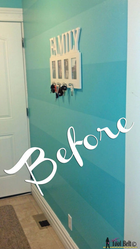 diy modern wall design with painters tape hometalk