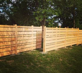 backyard ideas wood plank fence diy fences landscape outdoor living woodworking