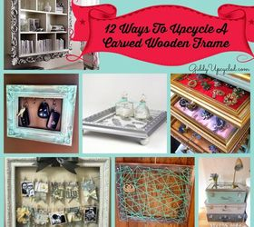Decor Picture Frame Upcycle Repurpose, Crafts, Home Decor, Organizing,  Repurposing Upcycling,