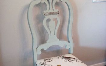 thrift store chairs rescue reveal, chalk paint, painted furniture
