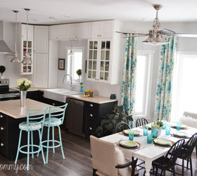 Kitchen Design Ideas Industrial Vintage Colorful Makeover, Home Decor, Kitchen  Design