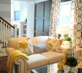 Living Room Makeover Renovation Bright, Foyer, Home Decor, Living Room Ideas