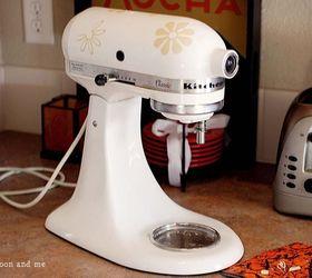 spray paint kitchenaid mixer makeover appliances home decor kitchen design