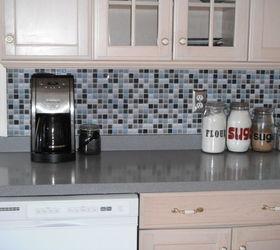 Kitchen Backsplash its not tile its a DECAL Hometalk