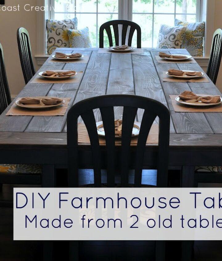 Full tutorial http://www.eastcoastcreativeblog.com/2011/07/farmhouse-table-remix-tutorial.html