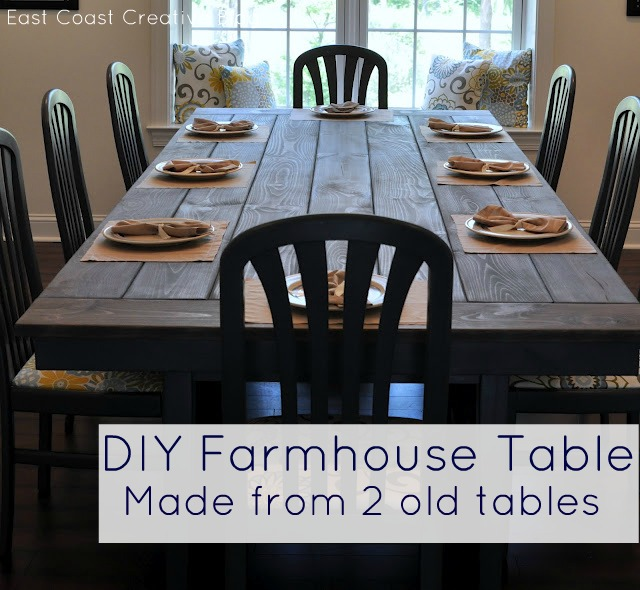 Full tutorial http://www.eastcoastcreativeblog.com/2011/07/farmhouse-table-remix-tutorial.html