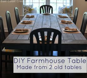 make your own farmhouse table the easy way diy how to painted furniture