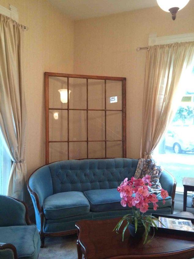 huge window as decor, home decor, living room ideas, repurposing upcycling, wall decor