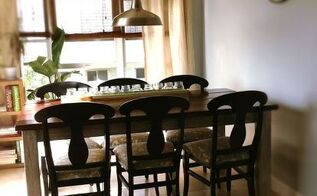 easy plans for a diy farmhouse table, painted furniture, rustic furniture, woodworking projects
