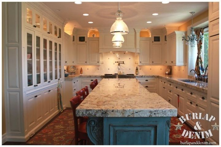 anthropologie inspired gourmet kitchen, doors, home decor, home improvement, kitchen design, kitchen island, Anthropologie Inspired Gourmet Kitchen