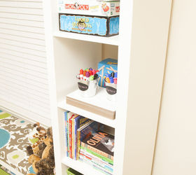 ikea kid toy storage shelves organizing repurposing upcycling storage ideas reupholster