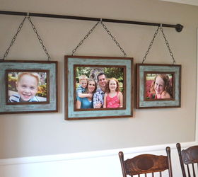 Iron Pipe Family Photo Display, Dining Room Ideas, Home Decor, Repurposing  Upcycling,