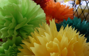 Tissue Paper Party Flowers
