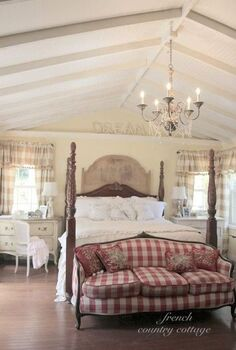 my favorite room in the house my french cottage inspired bedroom, bedroom ideas, christmas decorations, doors, fireplaces mantels, hardwood floors, home improvement, seasonal holiday decor