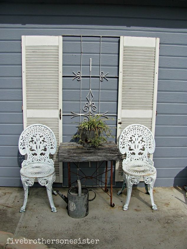 decorating with shutters curb appeal doors home decor french cafe look at
