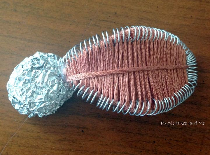 wire and floss flowers, crafts, how to