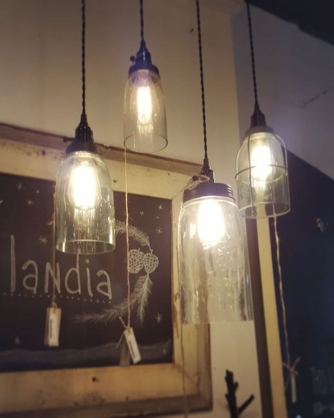 Beautiful DIY Farmhouse Light - With a Mason Jar! | Hometalk HL01