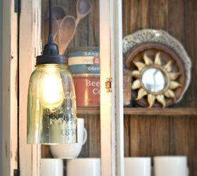 DIY Farmhouse Light With a Mason Jar Hometalk