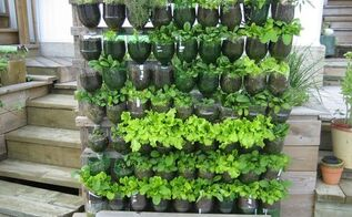 13 plastic bottle vertical garden ideas soda bottle garden container gardening diy gardening balconygardenweb