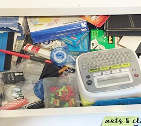 DIY Easy Office Drawer Organizers #30DayFlip