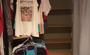 closet creation for under 25, closet, organizing, storage ideas, After
