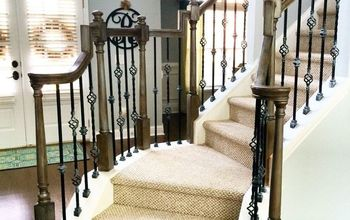 refinishing staircase banisters a complete makeover, home improvement, stairs, After