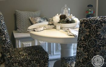 How to Make a Custom Slipcover... Form an Old Ratty Slipcover!