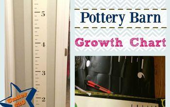 DIY Knock-Off Pottery Barn Kids Growth Chart