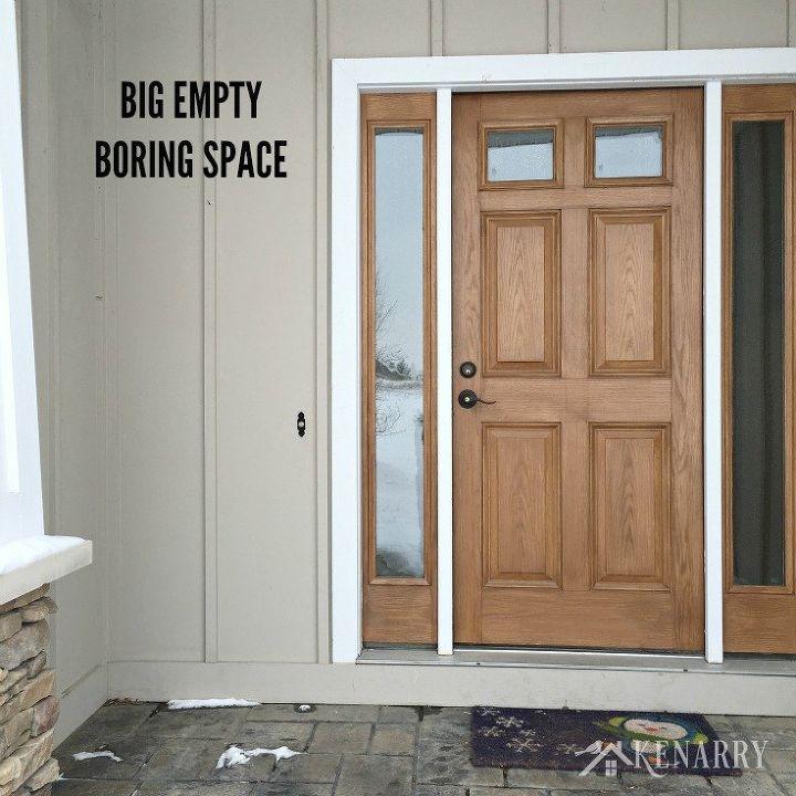 front door monogramWinter Monogram Decor for Outside the Front Door  Hometalk