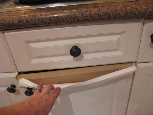 How do you paint laminate kitchen cupboards when they're peeling ...