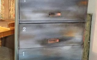 not your boring file cabinet anymore, painted furniture