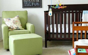 a vintage modern nursery, bedroom ideas, home decor, painting, wall decor