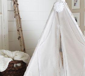diy 4 sided drop cloth teepee diy entertainment rec rooms home decor & DIY 4-Sided Drop Cloth Teepee | Hometalk