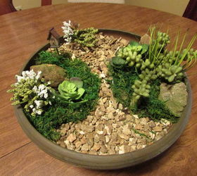 Lovely How To Make A Fairy Garden Using Pea Gravel, Container Gardening, Craft  Rooms,